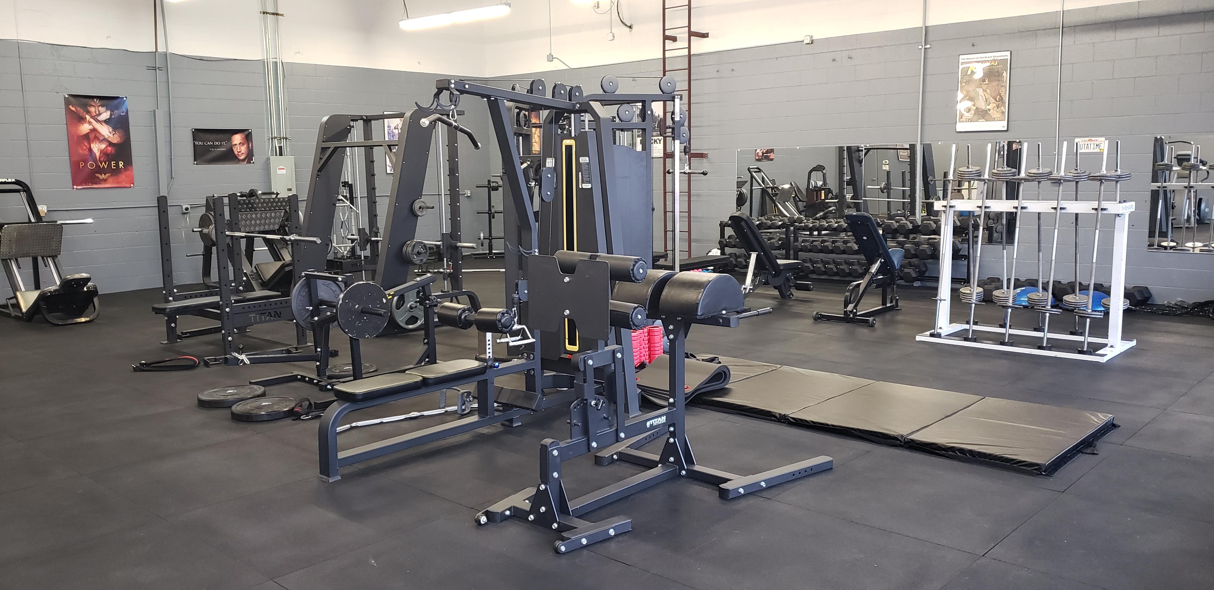 Weight machines