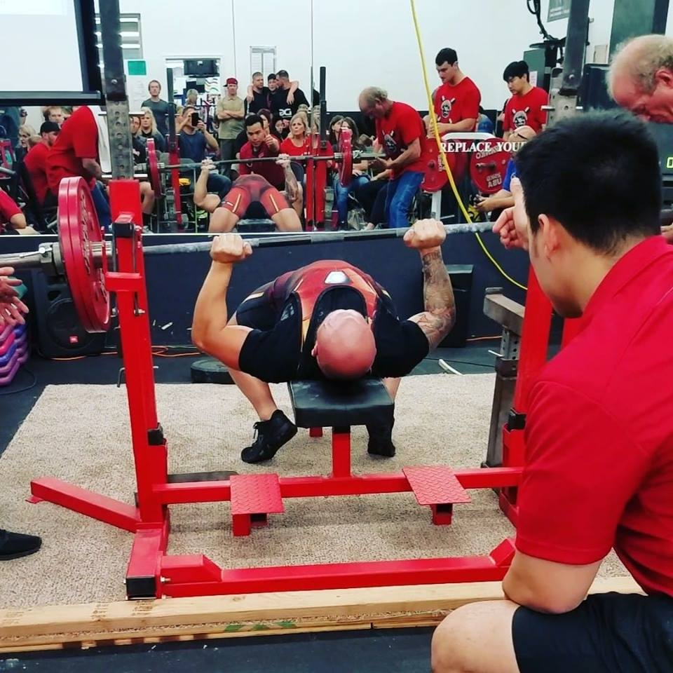 Bench Press Record