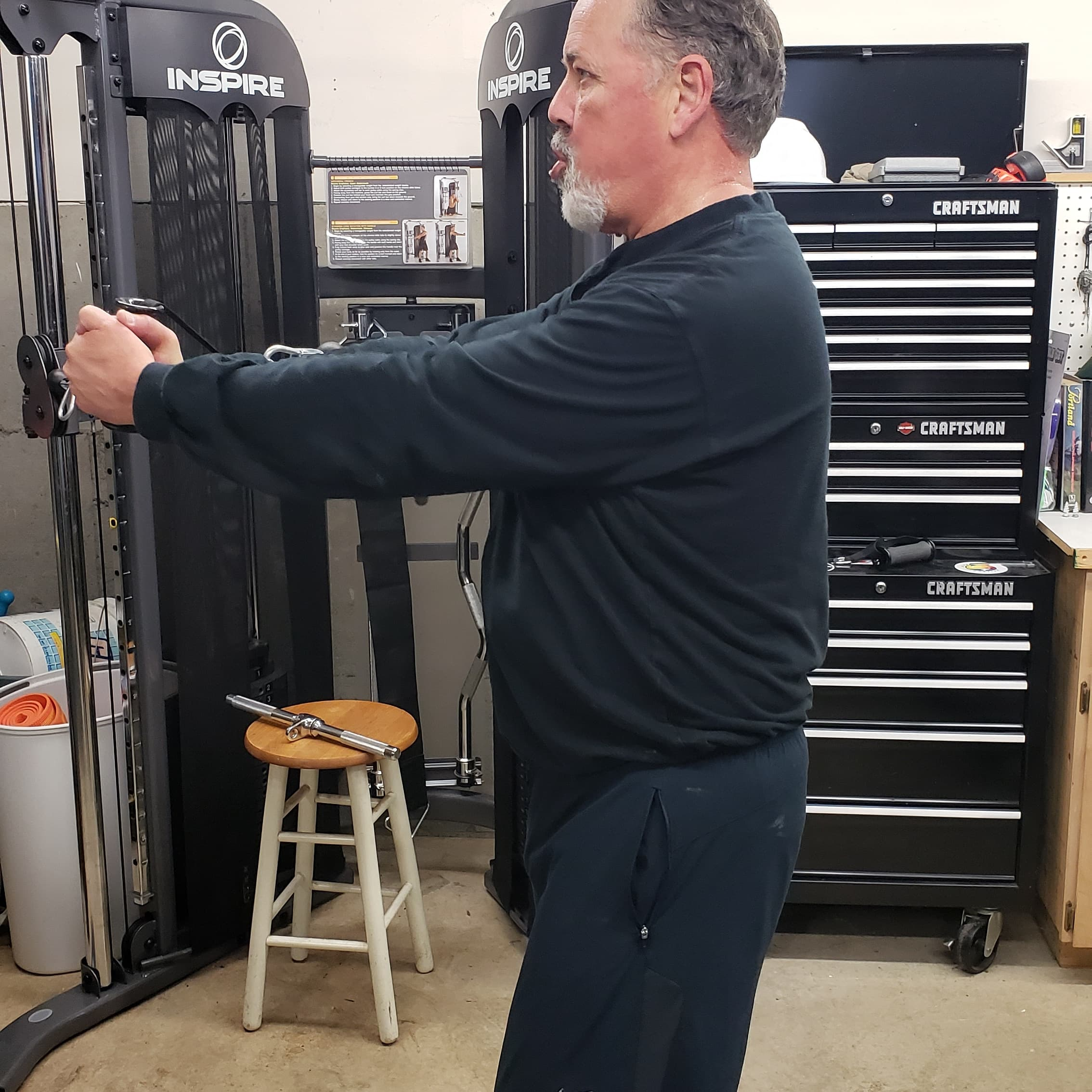 Personal Training - Testimonial Cable Pulldown