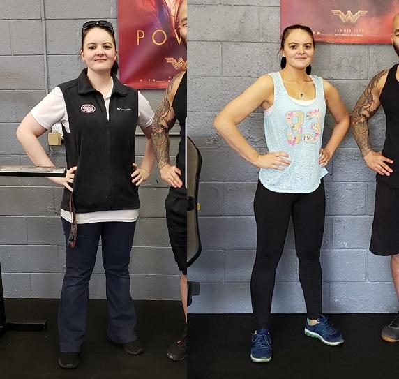Personal Training - Testimonial Brittany 1