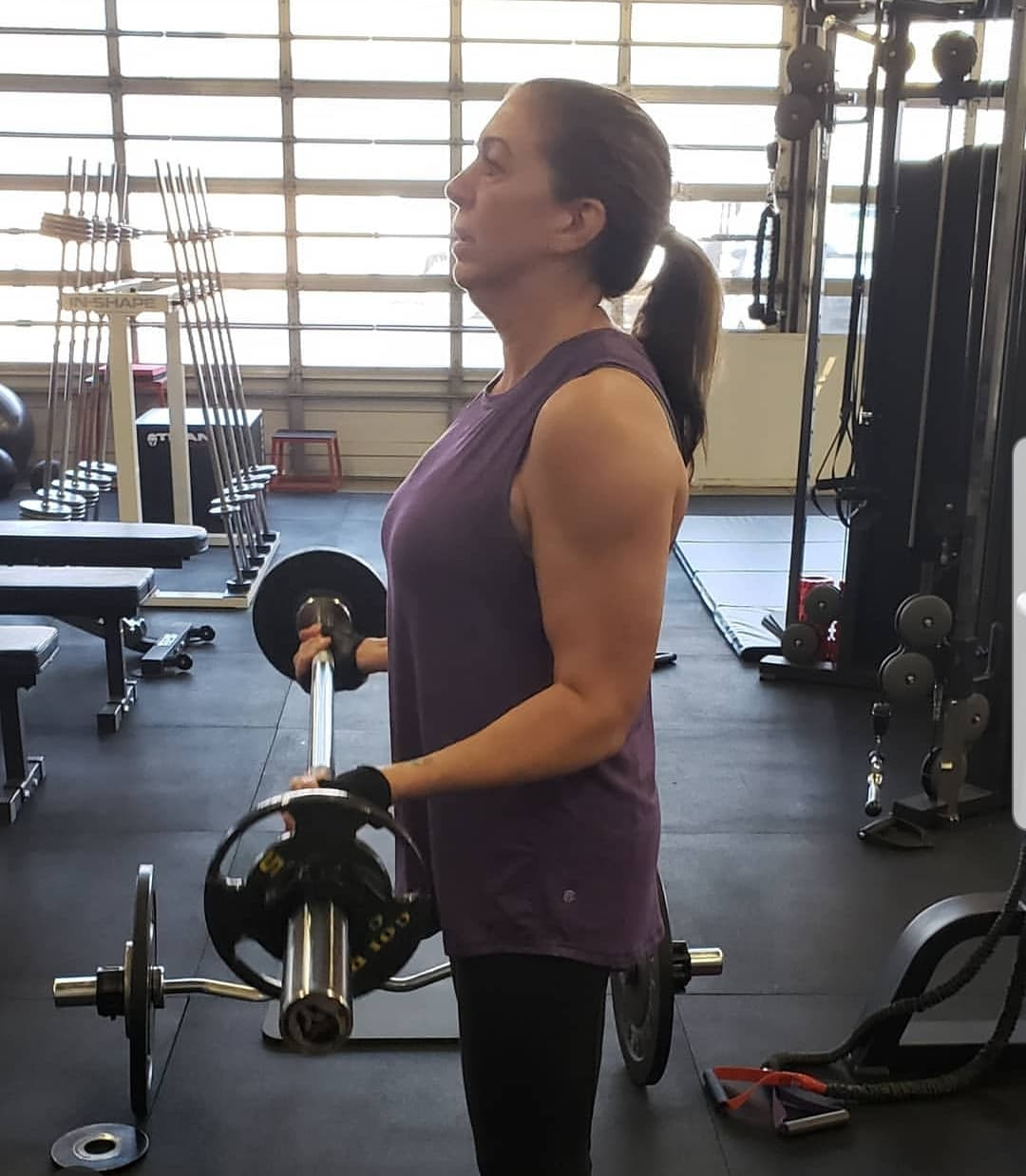 Personal Training - Testimonial Upright curls