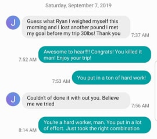 Text Exchange 1