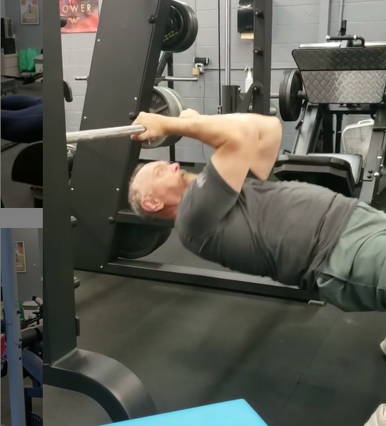 Personal Training - Testimonial Bicep Inverted Curl
