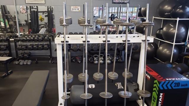 Personal Training barbells