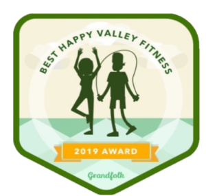 Personal Training Grandfolk Award Badge