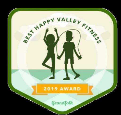 Personal Training Grandfolk Award Badge