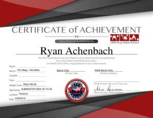 Bench Record