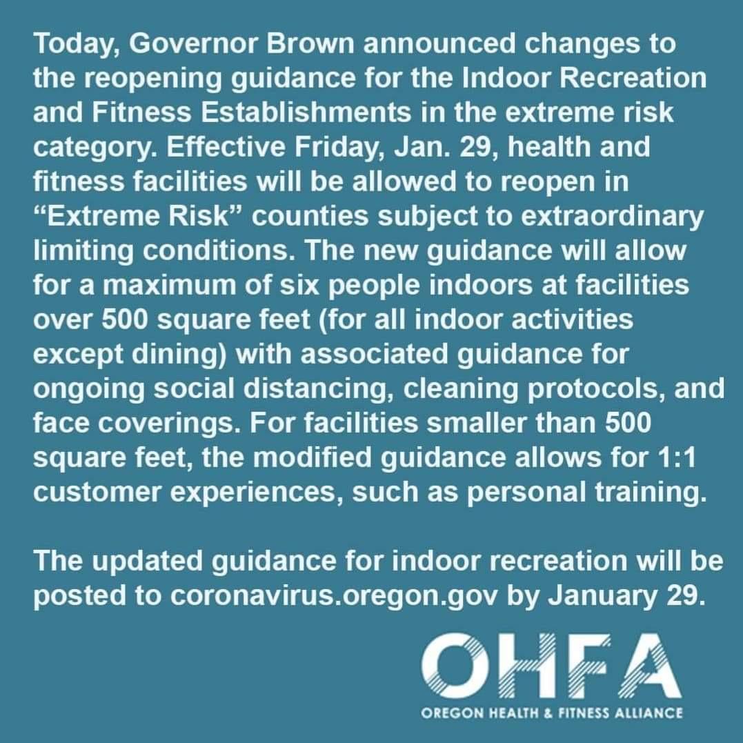 OHFA Notice